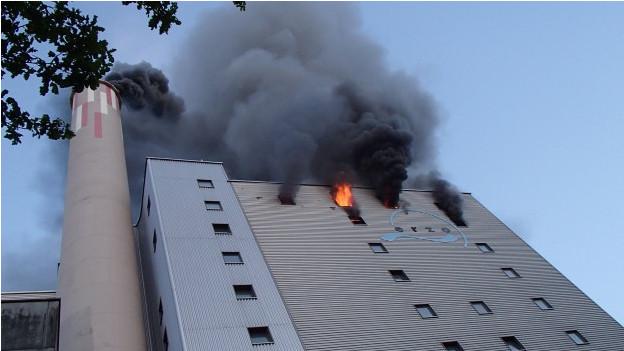 Beim Brand am 27. Mai entstand grosser Sachschaden, Personen wurden aber keine verletzt.