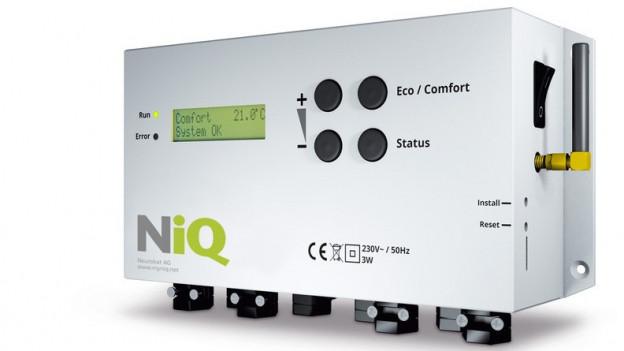 Dieses Gerät lässt Neurobat von mehreren Hausbesitzern und der Fachhochschule testen, in Zusammenarbeit mit dem Kanton.