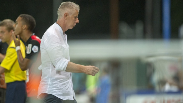 Livio Bordoli muss gehen. Der FC Aarau trennt sich per sofort vom Trainer, der erst Anfang Saison gekommen war.