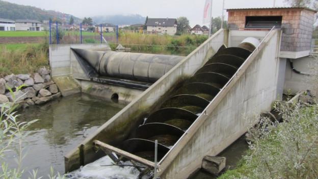 An der Suhre soll ein weiteres Kleinwasserkraftwerk entstehen, ähnlich wie ein bestehendes in Muhen.