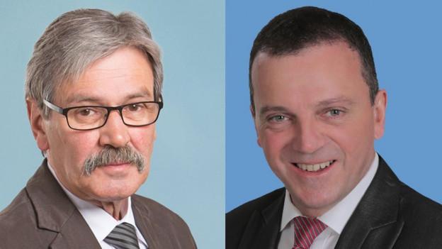 Wer wird zweiter Solothurner Ständerat: Amtsinhaber Roberto Zanetti (SP) oder Herausforderer Walter Wobmann (SVP)?