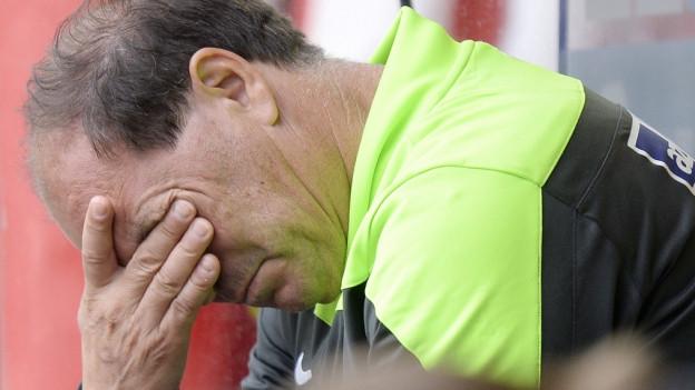 Eine Vorrunde zum Vergessen für FCA-Sportchef Raimondo Ponte