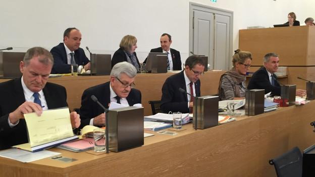 Die Aargauer Regierung hat es in der Budgetdebatte nicht einfach, mehrere Vorschläge werden vom Grossen Rat abgelehnt.