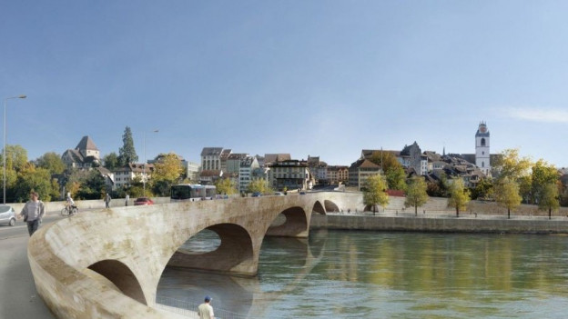 Der Spatenstich für die neue Kettenbrücke «Pont Neuf» ist für das Jahr 2017 vorgesehen.