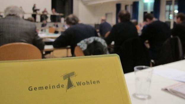 Die Gemeinde Wohlen hat einen stürmischen Jahresabschluss hinter sich.