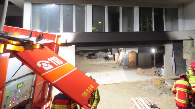 Turgi: Feuer in Neubau verursacht grossen Sachschaden