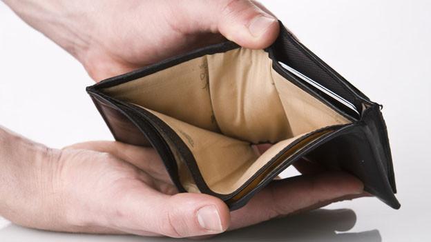 Die Brieftasche ist zwar leer, trotzdem will die Aargauer Regierung noch Investitionen machen können