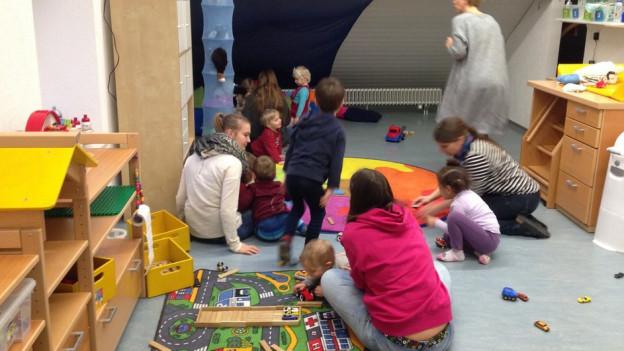 Das Kinderhaus Simsala in Brugg kann schon heute auf finanzielle Unterstütung der Stadt zählen und deshalb kostendeckend arbeiten.