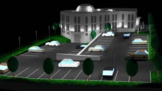 So könnte die Ebu-Hanife-Moschee in Grenchen dereinst aussehen. Die Finanzierung soll nun unter Dach und Fach sein.