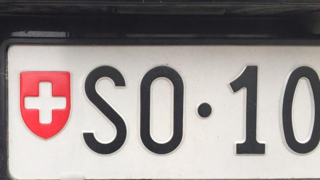 Solothurner Autonummer 10