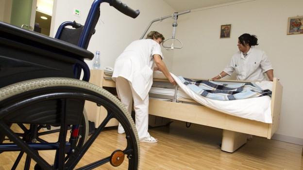 Wie viele stationäre Plätze in Pflegeheimen braucht es im Aargau? Die Regierung diskutiert über den Richtwert.