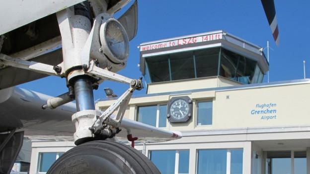 Wie viel Flugsicherung durch die Skyguide braucht der Flughafen Grenchen?