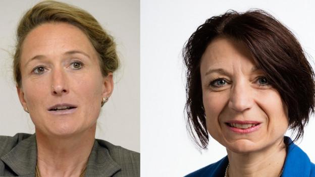 Susanne Hochuli und Yvonne Feri