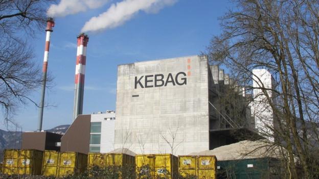 Die Kebag ist eine von 30 Kerichtverbrennungsanlagen in der Schweiz.