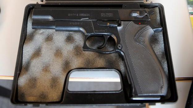 Spielzeug-Pistole in der Schule Bözberg sei für alle als Spielzeugpistole erkennbar gewesen, sagt die Staatsanwaltschaft.
