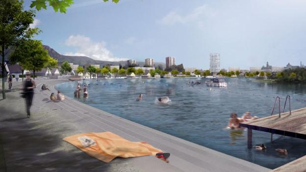 Das Projekt Wasserstadt ist klinisch tot.