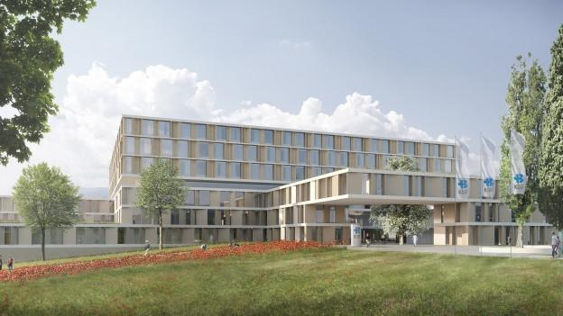 Siegerprojekt für Neubau des Kantonsspitals Baden steht fest