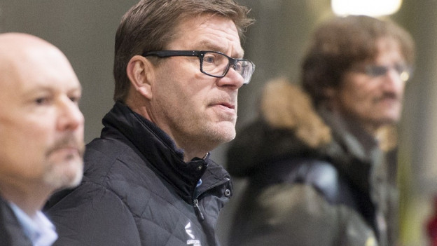 Eine Niederlage zu viel: Heikki Leime steht nicht mehr an der Bande des EHC Olten.