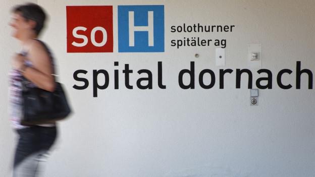 Beim Spital Dornach ist ein dreistöckiger Erweiterungsbau geplant.