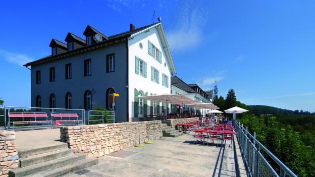 Das Kurhaus Weissenstein, wie es sich heute präsentiert.