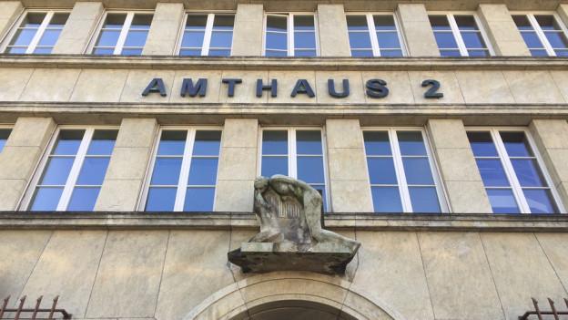 Hier tagt das Amtsgericht Solothurn Lebern.