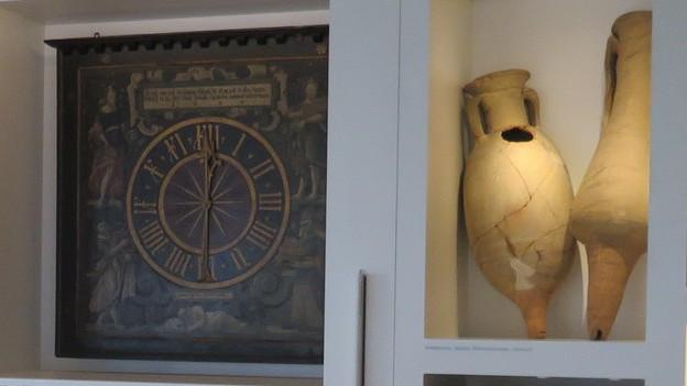 Die Erinnerungswand des Historischen Museums.