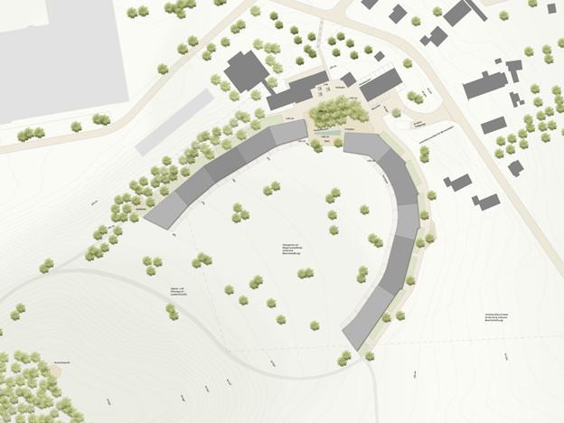 Eine Überbauung mit 130 Wohnungen ist geplant.