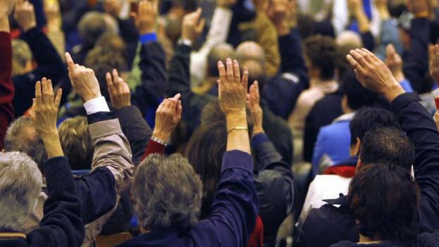 In vielen Aargauer Gemeinden entscheidet noch immer die Gemeindeversammlung über die Einbürgerung.