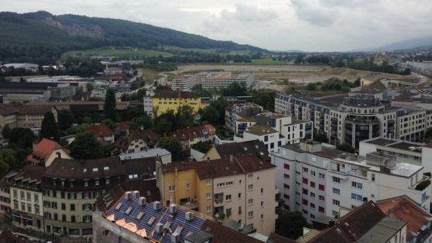 Häuser Kt. Solothurn von oben