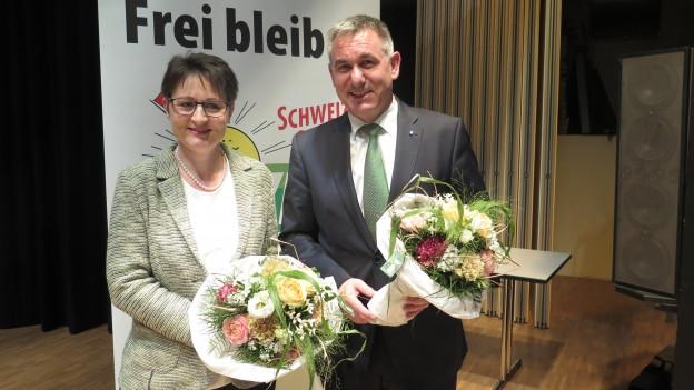 SVP Aargau nominiert Zweierticket für Regierungsratswahlen