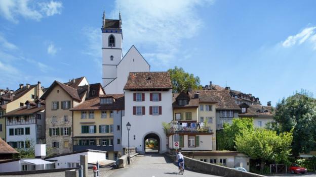Altstadt von Aarau.