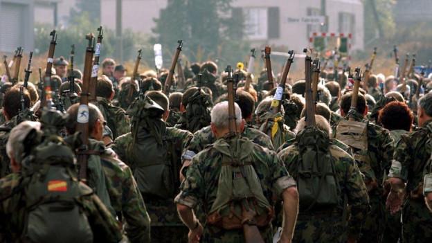 Waffenlauf, ein Auslaufmodell? Zum Jubiläum kamen viele nach Wiedlisbach und Solothurn.