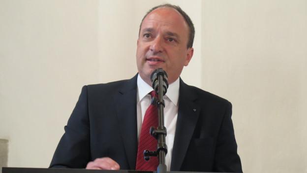 Wird er der neue Kopf in der Aargauer Regierung? Markus Dieth ist parat für den Wahlkampf.