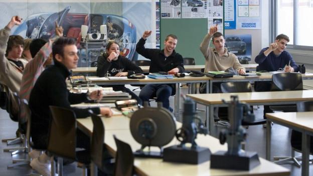 Reform bei den Aargauer Berufsfachschulen