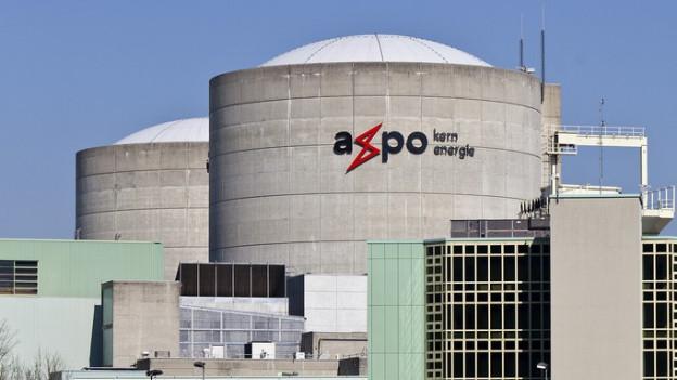 Das Kernkraftwerk Beznau I und II mit den beiden Reaktorblöcken.