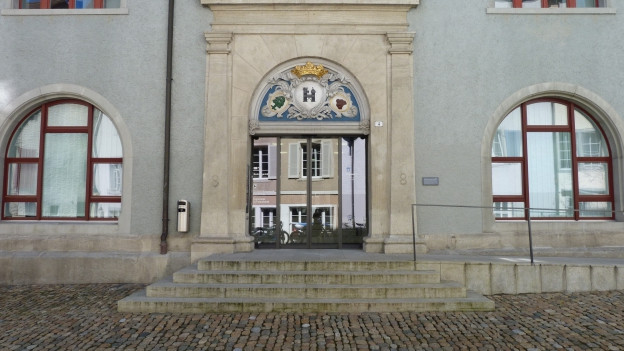 Die generelle Überlastung gebe Anlass zur Besorgnis, heisst es im Jahresbericht. Im Bild das Bezirksgericht Brugg.