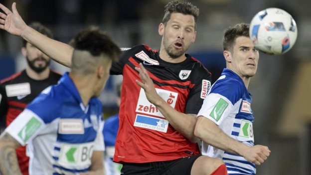 Der FC Aarau spielt unentschieden gegen den FC Lausanne.
