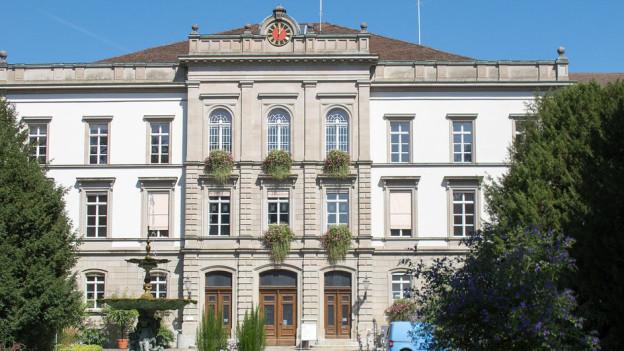 Das Hauptgebäude der Klinik Köngisfelden