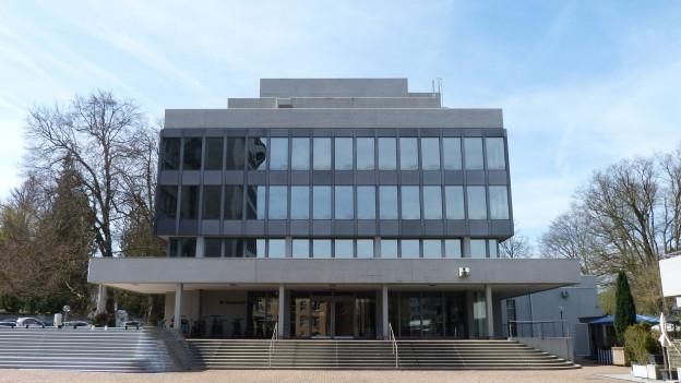 Blick auf Gebäude Obergericht in Aarau