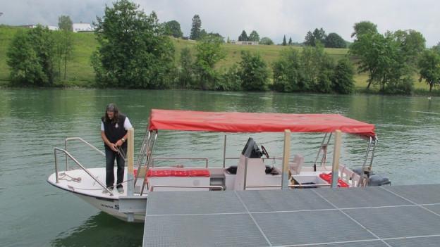 Fährdienst Zuchwil-Solothurn als Vision