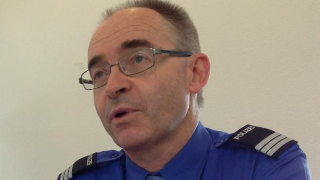 Thomas Zuber, Kommandant der Kantonspolizei Solothurn.