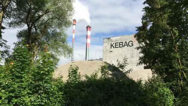 Für den Neubau der Kebag müssen 11'000 Quadratmeter Wald gerodet und andernorts aufgeforstet werden.