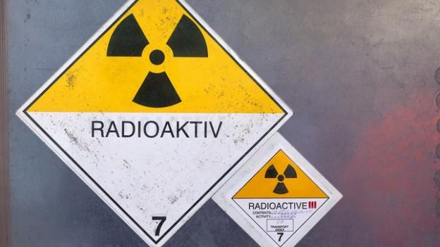 Der radioaktive Abfall der Schweiz wird im Zwilag Würenlingen gelagert.