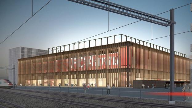 Der Stadiongegner ist in Lausanne erneut abgeblitzt. Nun ist der Entscheid des Bundesgerichts rechtskräftig. Der Baustart ist noch offen.