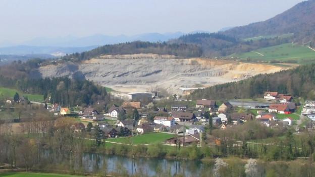 Steinbruch in Auenstein und Veltheim