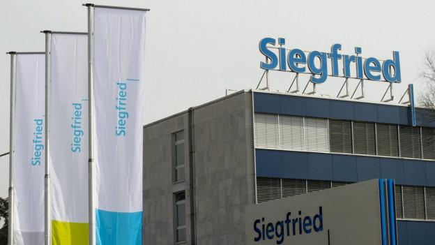 Die Übernahme von BASF prägte für Siegfried das erste Halbjahr 2016.