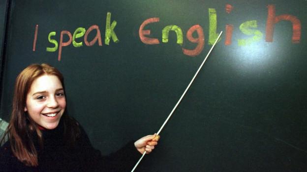 Englisch soll in Aargauer Schulen die erste Fremdsprache bleiben.