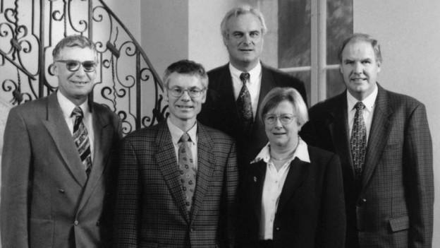 1993 war erstmals eine Frau in der Aargauer Regierung: Stéphanie Mörikofer (FDP).