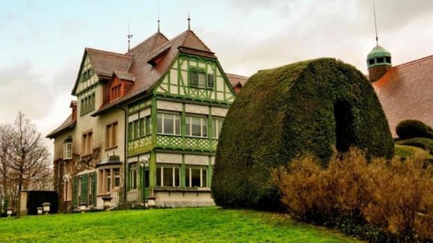 Das Museum Langmatt ist im ehemaligen Wohnhaus der Industriellenfamilie Brown untergebracht und braucht eine Sanierung.