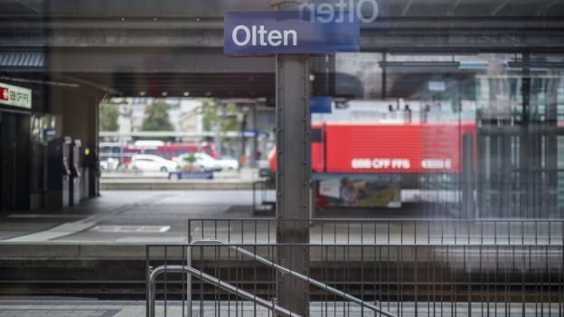 Bahnhof Olten soll leistungsfähiger werden